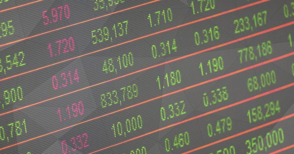 ticker trading board